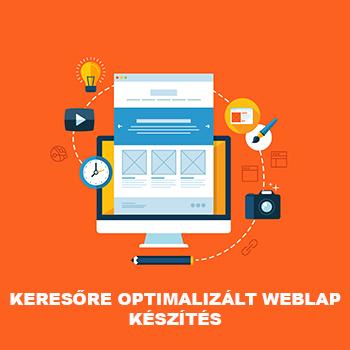 Keresőre optimalizált weblap készítés