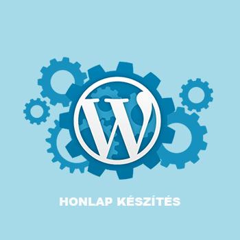 Honlap készítés – WordPress