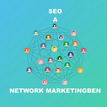 SEO a network marketingben
